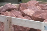 Devon Red Dressed Walling Stone
